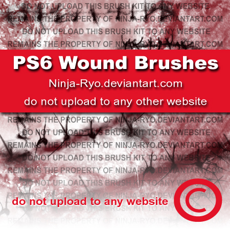 PS6 BRUSHES - Wounds