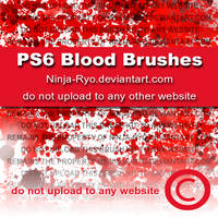 PS6 BRUSHES - Blood