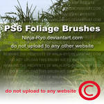 PS6 BRUSHES - Foliage