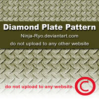 PS6 PATTERNS - Diamond Plate