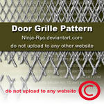 PS6 PATTERNS - DOOR GRILLE