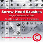PS6 BRUSHES - Screw Heads