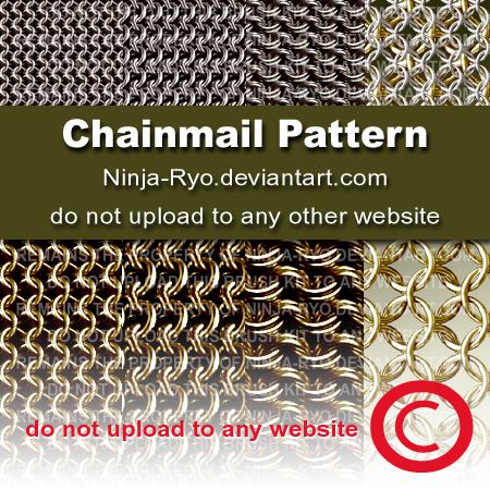 PS6 PATTERNS - Chainmail by Ninja-Ryo on DeviantArt