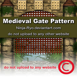 PS6 PATTERNS - Medieval Gate