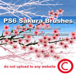 PS6 BRUSHES - Sakura