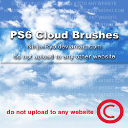PS6 BRUSHES - Clouds