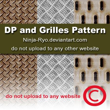 PS6 PATTERNS - DP + Grilles 2 by Ninja-Ryo