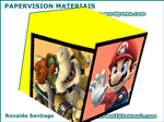 Papervision Materials