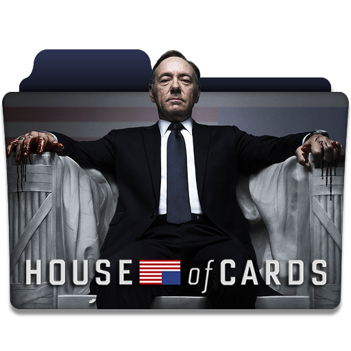 House Of Cards Tv Series Folder Icon V1 By Dyiddo On
