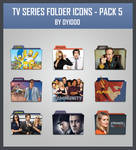 TV Series Folder Icon - Pack 5