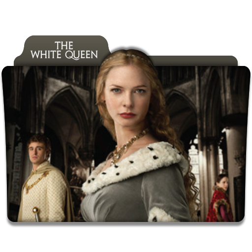 the white queen tv series folder icon v1 by dyiddo on deviantart. Black Bedroom Furniture Sets. Home Design Ideas
