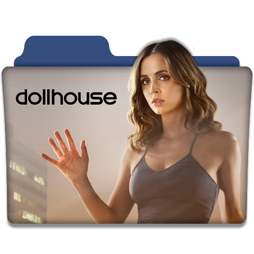 Dollhouse Tv Series Folder Icon V1 By Dyiddo On Deviantart