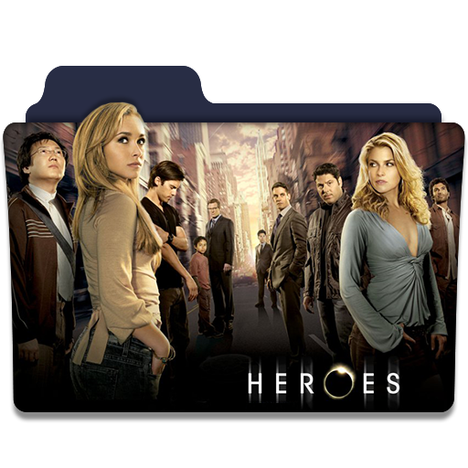 Heroes tv series folder icon v1 by dyiddo on deviantart