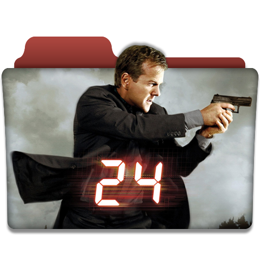 24 tv series folder icon v1 by dyiddo on deviantart