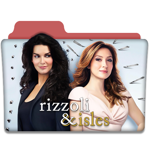 rizzoli and isles tv series folder icon by dyiddo on