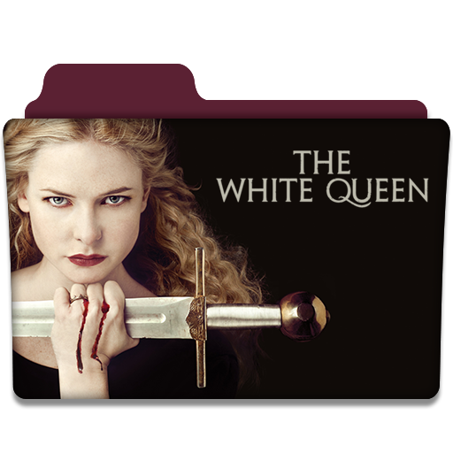 the white queen tv series folder icon v2 by dyiddo on deviantart. Black Bedroom Furniture Sets. Home Design Ideas