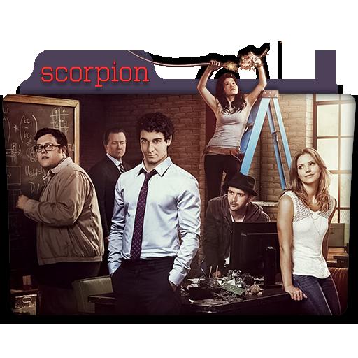 Scorpion Tv Series Folder Icon By Dyiddo On Deviantart