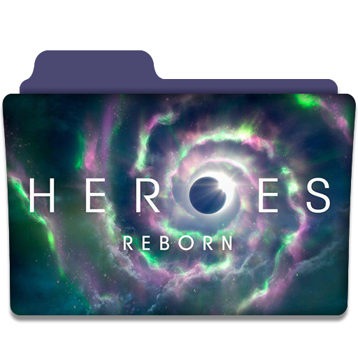 Heroes reborn tv series folder icon v1 by dyiddo on deviantart