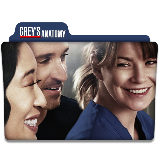 Grey\'s Anatomy : TV Series Folder Icon v1 by DYIDDO on DeviantArt