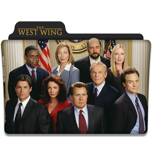 The West Wing Tv Series Folder Icon By Dyiddo On Deviantart