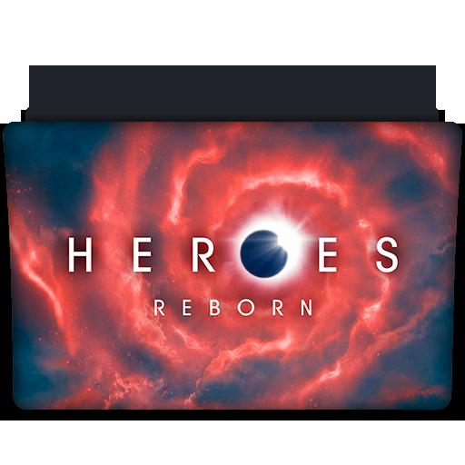 Heroes reborn tv series folder icon v2 by dyiddo on deviantart