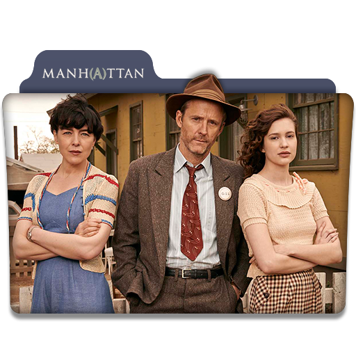 Manhattan : TV Series Folder Icon v2 by DYIDDO on DeviantArt