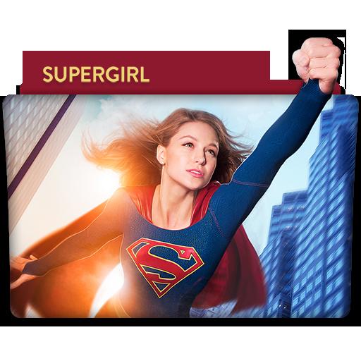 Supergirl : TV Series Folder Icon v5 by DYIDDO
