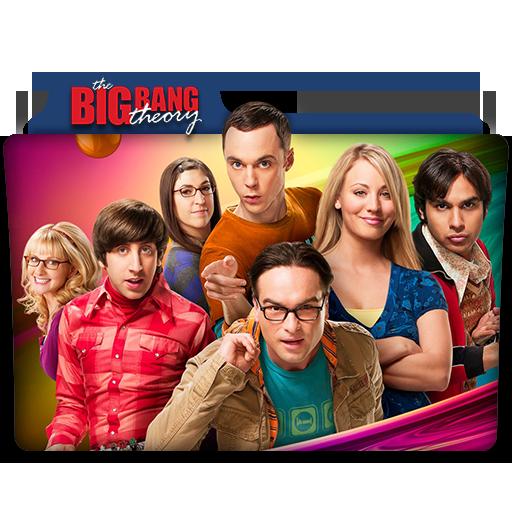 The Big Bang Theory Tv Series Folder Icon V3 By Dyiddo