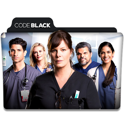 code black tv series folder icon by dyiddo on deviantart. Black Bedroom Furniture Sets. Home Design Ideas