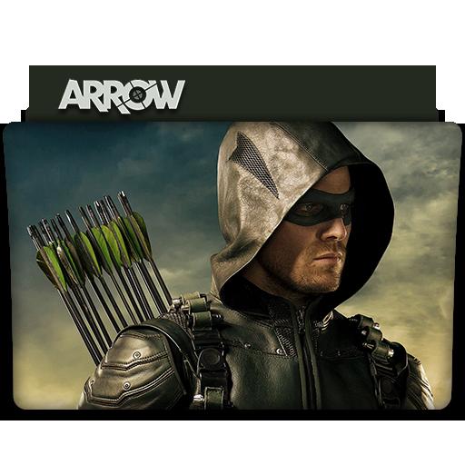 Arrow Tv Series Folder Icon V5 By Dyiddo On Deviantart