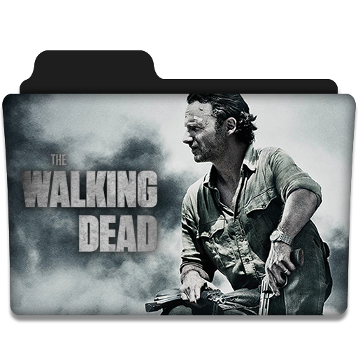 The Walking Dead Tv Series Folder Icon V4 By Dyiddo On