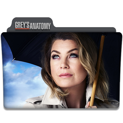 Greys Anatomy Tv Series Folder Icon V2 By Dyiddo On Deviantart