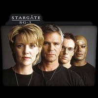 Stargate SG-1 : TV Series Folder Icon v1 by DYIDDO