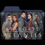 Stargate Atlantis : TV Series Folder Icon v1