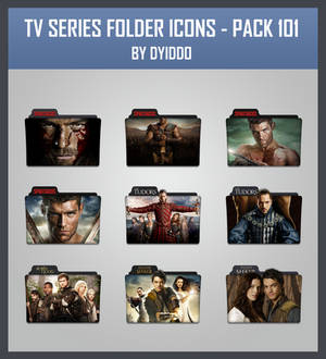 TV Series Folder Icons - Pack 101