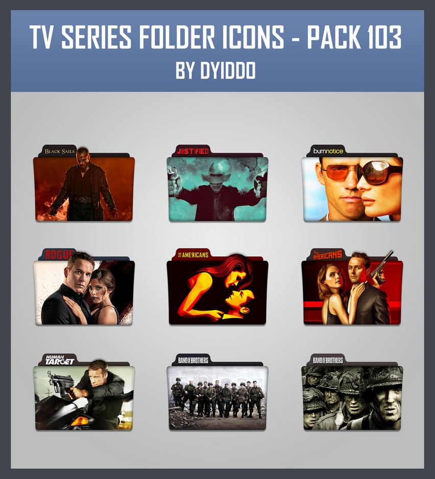 Tv series icon pack