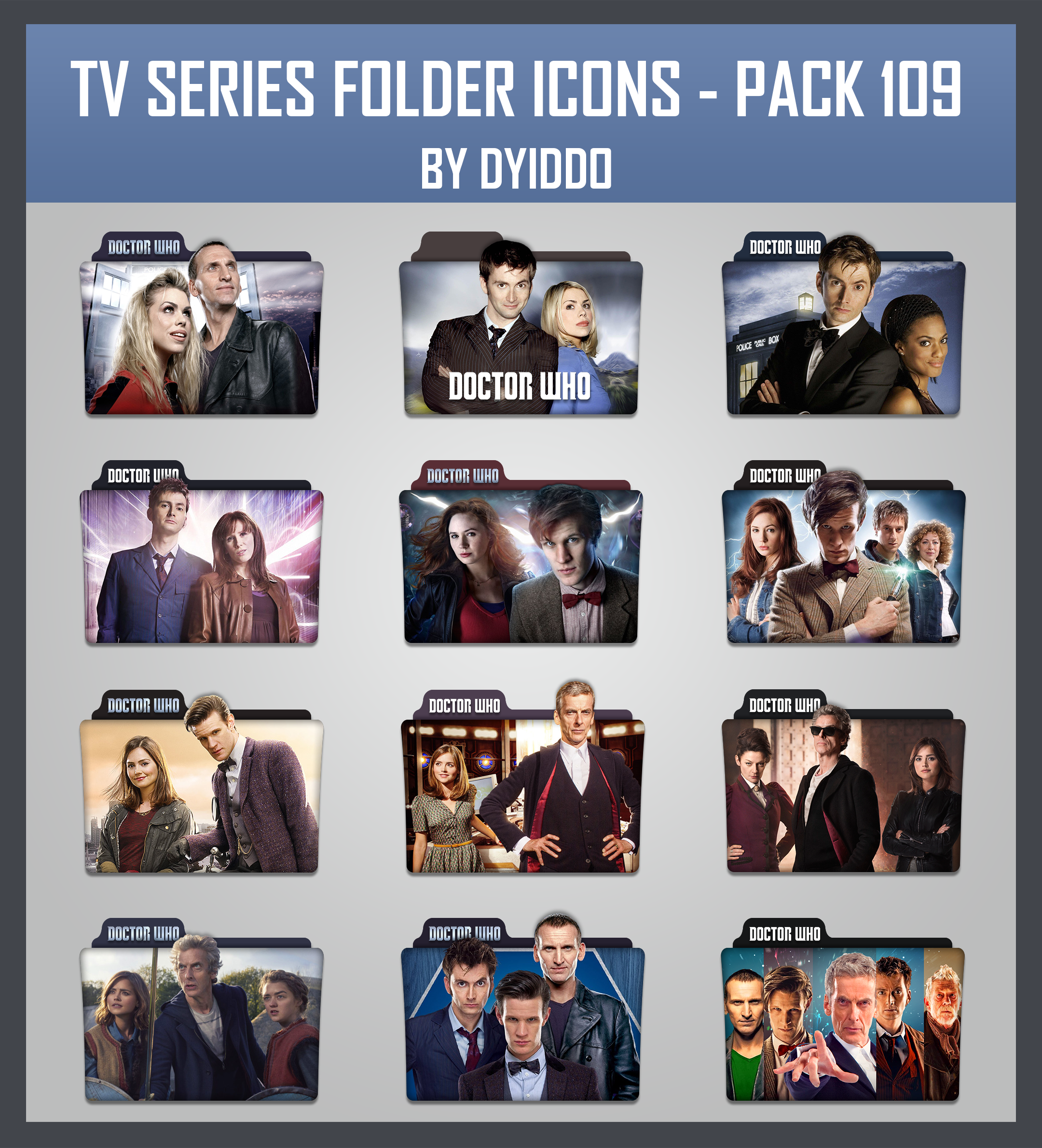 tv series folder icons pack 109 by dyiddo on deviantart
