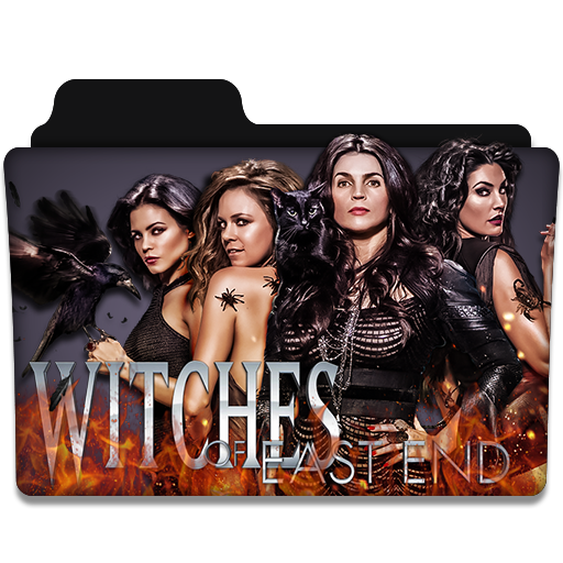 Witches Of East End Tv Series Folder Icon V2 By Dyiddo On Deviantart