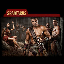 Spartacus : TV Series Folder Icon v9