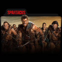 Spartacus : TV Series Folder Icon v12