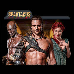 Spartacus : TV Series Folder Icon v14