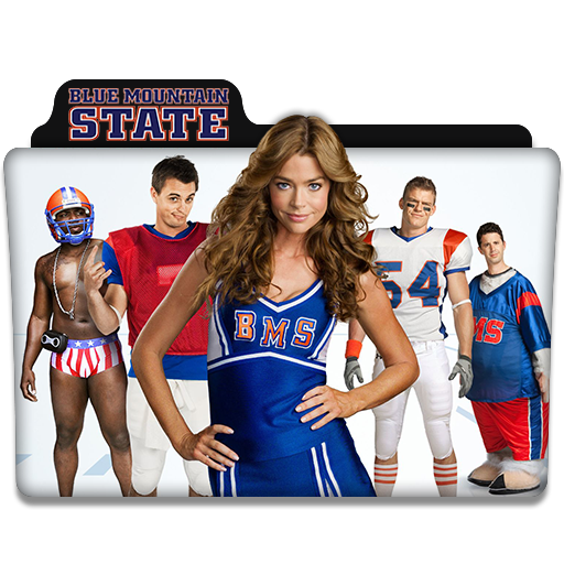 blue mountain state tv series folder icon by dyiddo on deviantart. Black Bedroom Furniture Sets. Home Design Ideas