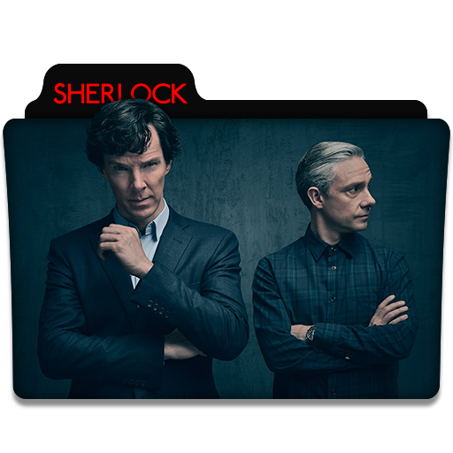 Sherlock : TV Series Folder Icon v6 by DYIDDO