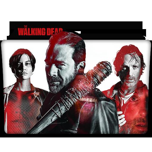 The Walking Dead Tv Series Folder Icon V11 By Dyiddo On