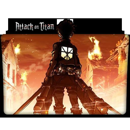 Attack On Titan : TV Series Folder Icon V2 By DYIDDO On