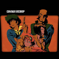 Cowboy Bebop : TV Series Folder Icon v2 by DYIDDO