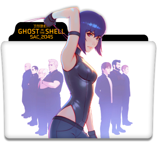 Ghost In The Shell Sac 2045 Tv Series Icon V2 By Dyiddo On Deviantart