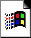 Windows 98 Unknown file type
