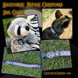 Nightmare Before Christmas Dog Collar
