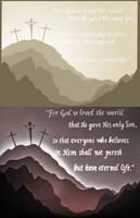 John 3:16 LightBox Comparison by GreenYosh